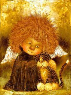 Добрые картины Галины Чувиляевой / Культурное наследие / Бэйбики. Куклы фото. Одежда для кукол