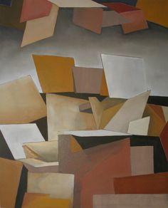'Alizarin' -  Olieverf op doek (Oil on Canvas) -  80 cm bij 100 cm (31,5 in x 39,4 in) -  13 december 2015 (Dec 13, 2015) -