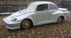"shitty-car-mods-daily: ""VW Beetle via Shitty_Car_Mods "" It WAS a Beetle"