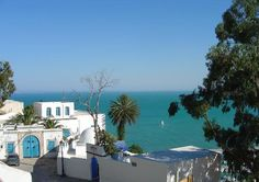Sidi Bou Said, Tunisia. One of the most calm and beautiful places to reflect and enjoy Tunisian culture.