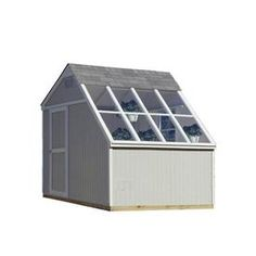 Shop Heartland (Common: 10-ft x 8-ft; Interior Dimensions: 10-ft x 7.71-ft) Horizon Saltbox Engineered Storage Shed (Installation Not Included) at Lowes.com