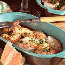 Weight Watchers...Baked Shrimp in Lemon Garlic Sauce - only 5 points and SO good!!!