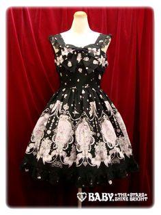 Baby the stars shine bright  Cinderella Jewelry Jsk in black