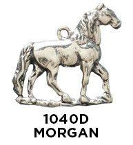 Morgan Horse Charm 1040D