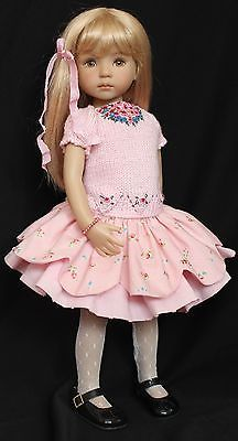 Handmade-Embroidered-Knit-Outfit-for-Effner-13-Little-Darling-Dolls. SOLD for $155.27 on 3/5/15