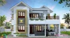 2630 square feet (244 Square Meter) (292 Square Yards) 4 bedroom attached double storied house architecture. Design provided by R it designers, Kannur, Kerala.
