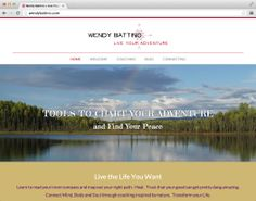 Super thrilled to be announcing my latest website design: http://wendybattino.com/. It's a fully responsive, retina optimized, WordPress site featuring parallax images, appointment scheduling, and more! Check out Wendy Battino and Live Your Adventure today! #responsive #retina #WordPress #parallax #webdesign