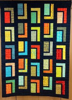 urban cabin quilt pattern free - Google Search