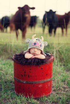 My favorite baby picture ever! Hope when I am fortunate enough to a little one, I can get a picture like this!