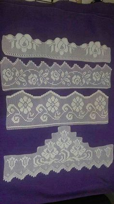 This post was discovered by Nu Filet Crochet, Crochet Lace Edging, Unique Crochet, Crochet Borders, Tunisian Crochet, Crochet Poncho, Diy Crafts Love, Diy Crafts Crochet, Crochet Art