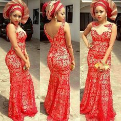 Check Out This Beautiful Gown Red Combinations >>> See More styles >>http://www.dezangozone.com/2015/04/check-out-this-beautiful-gown-red.html