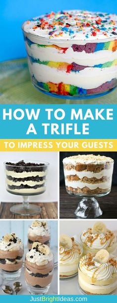 Nothing says dessert for a crowd better than a trifle. They're super simple to put together and are crowd pleasers at church groups, book clubs, and of course every Holiday gathering from Easter through Christmas!