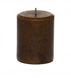 Sandalwood Scented Pillar Candle