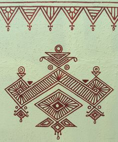 http://princesswithapen.hubpages.com/hub/Bheeth-Chitra-A-unique-Indian-tribal-wall-art-style-Step-by-step-guide