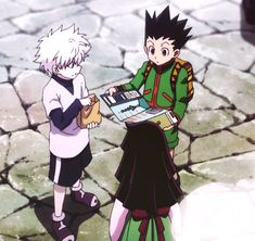 Gon, Killua and Lluka