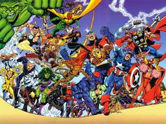 The Avengers by George Perez