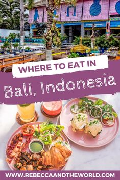 As one of the hottest places to visit these days, Bali has plenty of hip and delicious restaurants. Read on for a guide on where to eat in Bali, from casual warungs to restaurants for a fancy night out. Bali Travel Guide, Asia Travel, Travel Tips, Travel Ideas, Travel Goals, Travel Advice, Travel Inspiration, Delicious Restaurant, Best Street Food