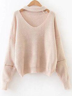 $19.49 for Zipped Oversized Choker Neck Sweater