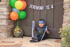 Sweet and loving Jeremy turn 4!   Jeremiah Is 4  TMNT photo shoot  Ninja turtle birthday photo shoot  Kids photographer  Kids Photography  Birthday photo session  Skybright Photography  Skybrightphoto.com