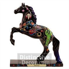 Enesco Trail of Painted Ponies Horse Figurine - Bonanza Pony