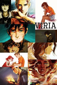 Percy Jackson art by Viria