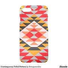 Contemporary Tribal Pattern iPhone 7 Case