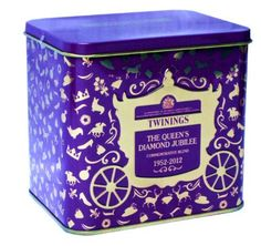 (purple) Twinings Extra Special Limited Edition The Queens Diamond Jubilee Commemorative Blend 20 Enveloped Tea Bags in Collectors tin (Majestic Purple) by Twinings, http://www.amazon.com/dp/B0085TKGAC/ref=cm_sw_r_pi_dp_zoKZpb1V5DR7S