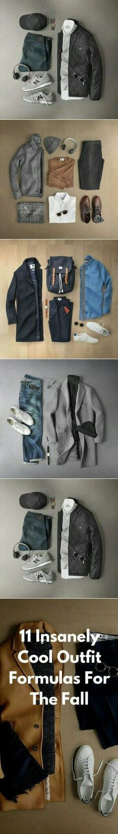 Fall Outfit Grids.