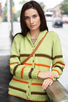 Ravelry: Shawl Collar Cardigan pattern by Patons
