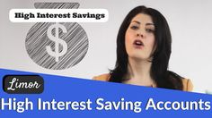 Learn about high interest savings accounts. This can be a great place to save money if you have a very low risk tolerance but still want your funds to grow. High Interest Savings Account, Accounting, Saving Money, Learning, Videos, Save My Money, Teaching, Education, Studying