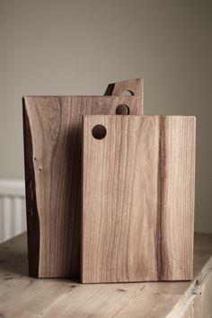 Elm chopping / cutting /serving board by HeadandHaft