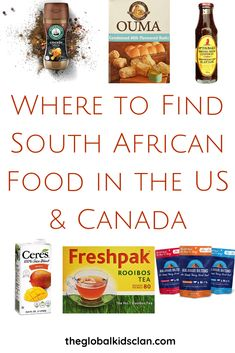 Where to Find South African Food in the USA & Canada