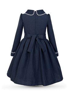 Платье Аннет Alisia Fiori. Цвет синий. Вид 2.