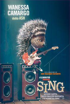 Wanessa Camargo dubla Ash em Sing - Quem Canta Seus Males Espanta, 22 de dezembro nos cinemas!