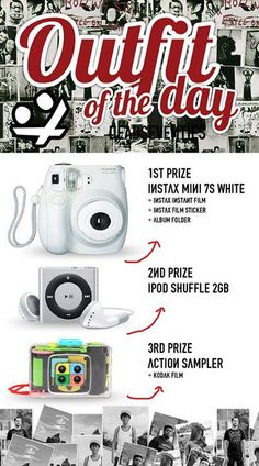 """Comeon yg blm ikutan hari terakhir nih! Join with us """"OOTD with DSVS"""" and get special prizes!"""