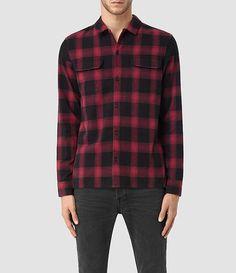 Men's Nanaimo Shirt (Red check) -
