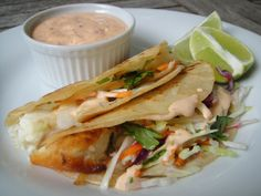 I use the chipotle mayo in this recipe for fried or grilled fish tacos! It's delicious, but wow baby is it spicy!