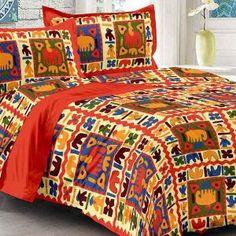 uniqchoice cotton king size bed sheet set