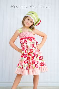 Kinder Kouture Pink Dahlia Dress