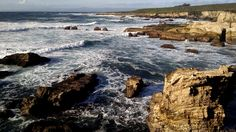 Crashing Waves at Montaña de Oro State Park