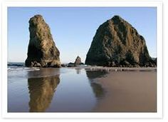 Haystack Rock, OR... was really foggy when i was there...still amazing!!