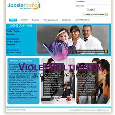 Violet Multimedia   » Jobster India WebSite Design