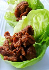 Healthy and Gourmet: Lettuce Wraps with Sriracha-Honey Beef