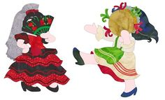 Sunbonnet Sue In Spain and Italy Released... - http://www.seamstobesew.com/sunbonnet-sue-in-spain-and-italy-released/