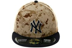 78d4f92c1ce New Era Authentic Collection New York Yankees Memorial Day On-Field 2014  Fitted Game Hat
