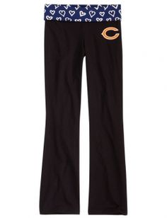 Chicago Bears Graphic Waistband Yoga Pant