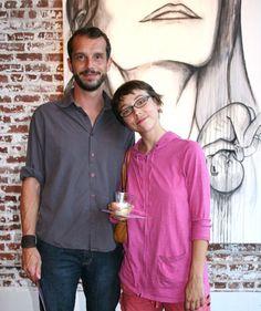 Matteo Servente and Sarah Ledbetter