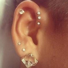 cartilage pierced..this would be pretty cool actually..