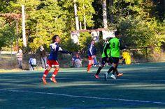 Team America 96 (TAFC96) vs BFC Barca 96 Elite (NCSL U18/U19 Division 1, October 5, 2014)- Brodie Edgerton #6, Maurice Martinez #21