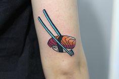 原汁原味的放下去 #wasabi#sushi #japanese #tattoo#kawaii #tattooer#ibizaink